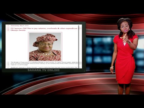 Keeping It Real With Adeola -165 (Africa's Largest Economy Borrows To Pay Salaries)