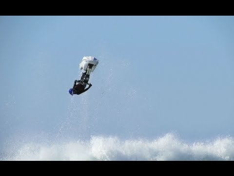 Freeride Jetski in Surf - Big Air [HD]