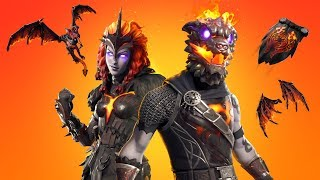 😍LAVA-LEGENDS-PACK!😱 + GAMEPLAY | FORTNITE: BATTLE ROYALE