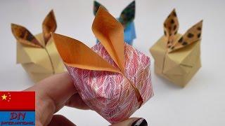 DIY 手工制作 春天 复活节 可爱兔子 便签纸 折纸 纸艺 展示