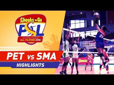 Highlights: Petron vs. Smart | PSL All-Filipino Conference 2018
