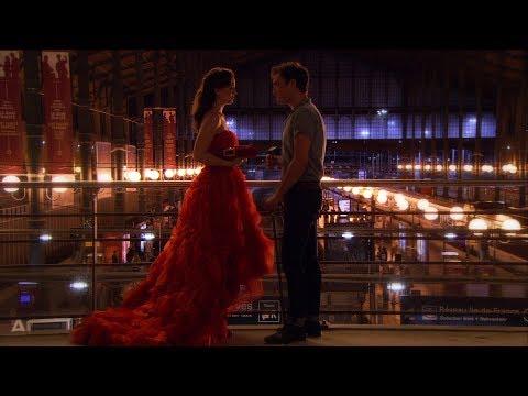 Chuck and Blair Train Station in Paris Gossip Girl 4x02 [HD]