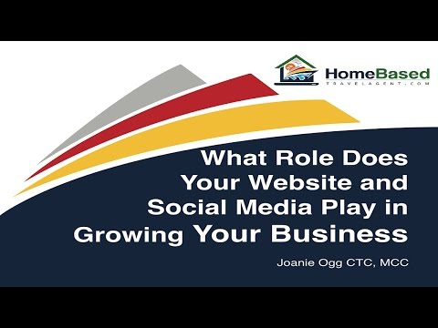What Role Does Your Website and Social Media Play in Growing Your Business