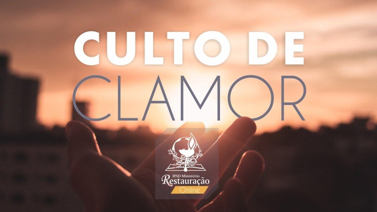 TRANSMISSÃO AO VIVO - CULTO DE CLAMOR - (02/12/2020)