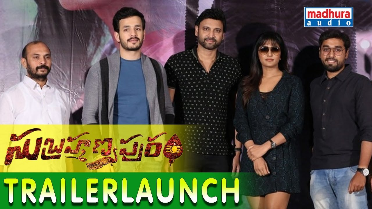 Subramaniapuram Telugu Movie Trailer Launch || Sumanth , Eesha Rebba || Santhossh Jagarlapudi