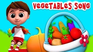 Vegetable Song | Luke And Lily Rhymes | Learning Videos For Babies by Kids Abc Tv baby themes