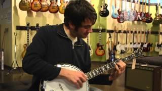 Carter Vintage Guitars - Noam Pikelny on a pre-war Gibson RB-7