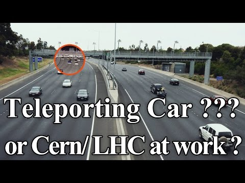 Secret Governments Teleporting Car ???