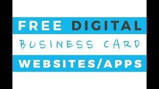 Top Virtual Business Cards : Design Digital Cards Similar Apps