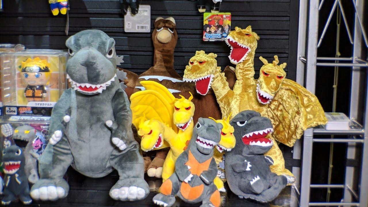 Ty Puppies Stuffed Animals, Godzilla Plush From Bandai Toy Fair Reveal Youtube