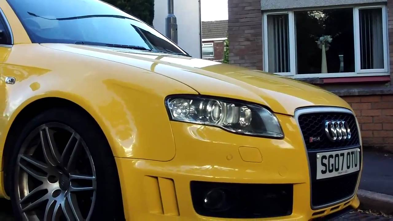 Who Owns Audi >> Audi RS4 (Very Rare) - YouTube