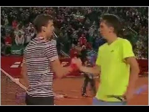 Grigor Dimitrov vs. Sergiy Stakhovsky 6-3, 6-4 BRD Nastase Tiriac Trophy Bucharest (QF) 25.04.2014.