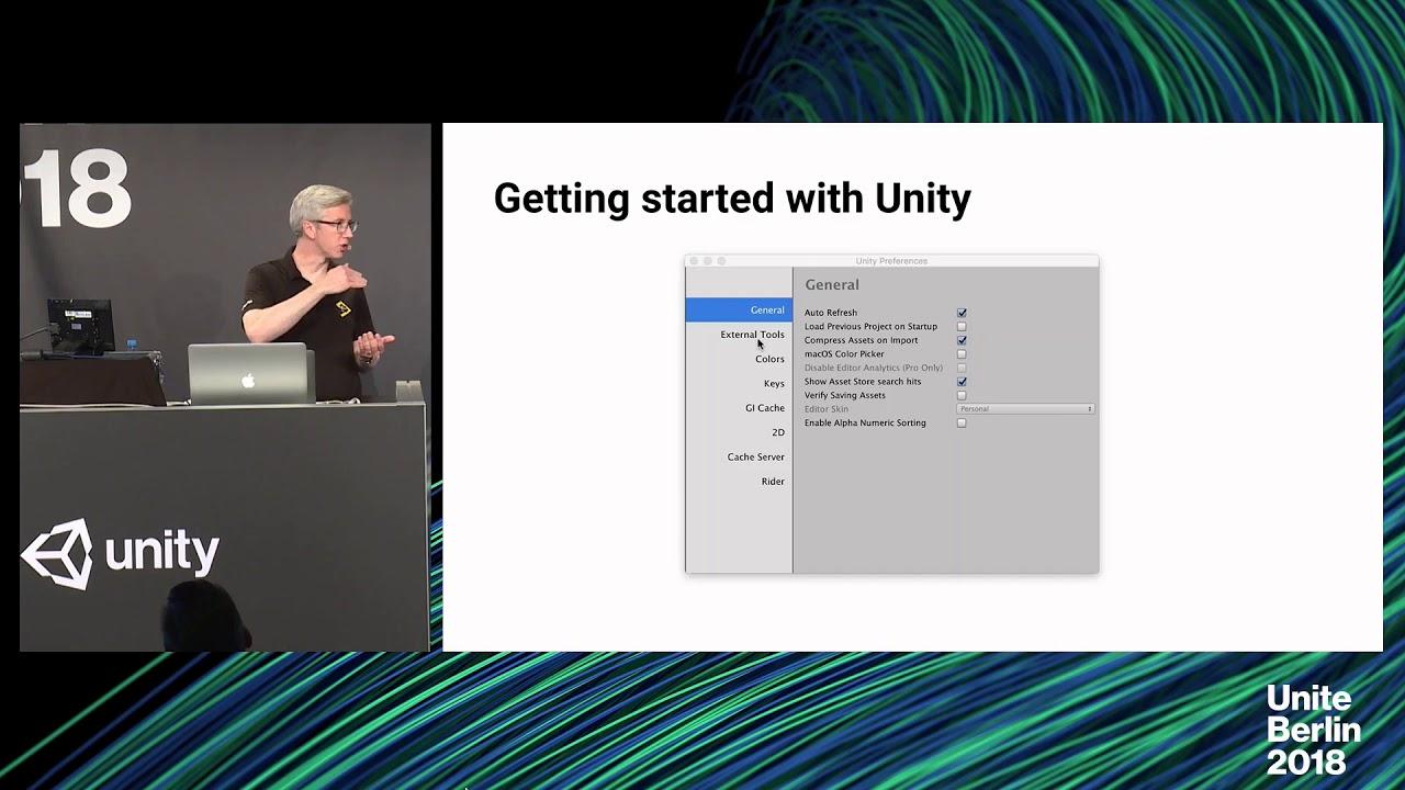 Unite Berlin 2018 - Better Unity Scripting with Rider