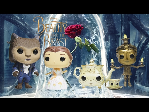 BEAUTY and THE BEAST Funko Pop Reviews Live Action movie Funko Pops!