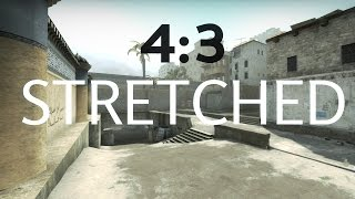 How to play 4:3 Stretched in CS:GO (on a laptop/intel)