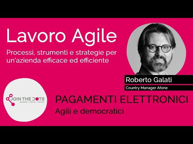 Pagamenti elettronici agili e democratici