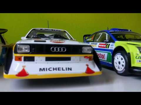 Rally Cars 1:18 - Voitures - Altaya Collection - First 11 Cars!