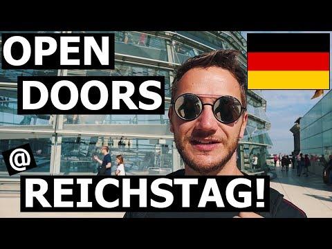 Open Door Day @ REICHSTAG! (BERLIN, Germany) - Brandenburg Gate + Checkpoint Charlie