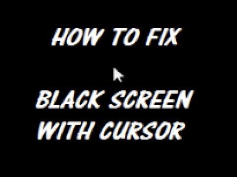 Windows 10 Black Screen Of Death FIX [Tutorial]