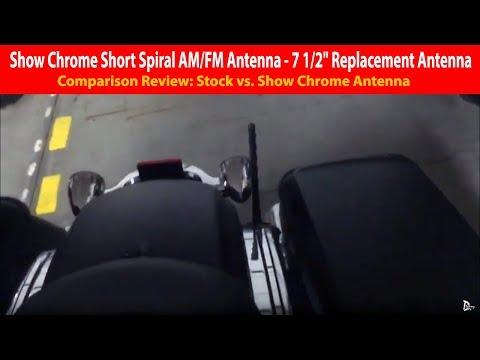 "Show Chrome Short Spiral AM/FM Antenna - 7 1/2"" Replacement Antenna Review"