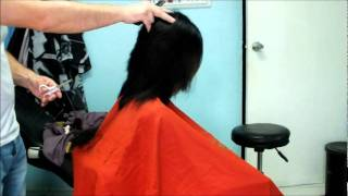 Jennifer long hair cut