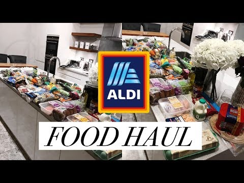 0a4106958fc24 HEALTHY ALDI FOOD SHOPPING HAUL // £60 BUDGET SHOP FOR TWO – Shopping time