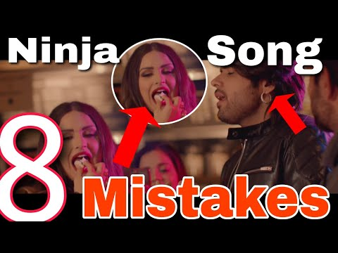 8 MISTAKES IN AJJ VI CHAUNNI AAH SONG BY NINJA | LATEST PUNJABI SONG 2018 OFFICIAL VIDEO
