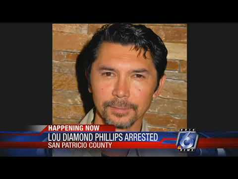 Lou Diamond Phillips arrested on DWI charge