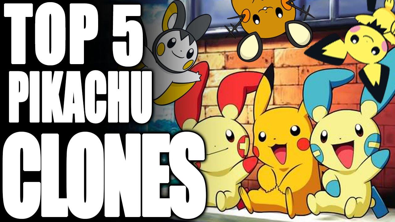 Top 5 Pikachu Clones Tamashii Hiroka Youtube