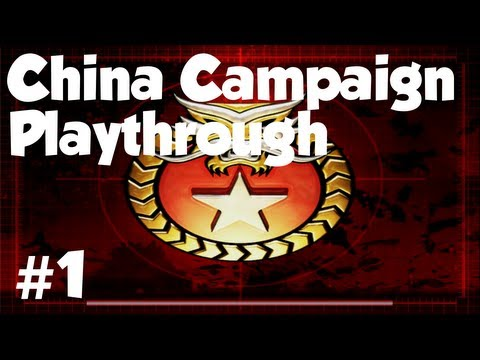 China Mission 1 - Command And Conquer Generals: Zero Hour (1/5)