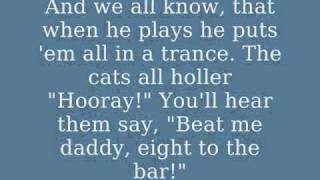 Beat Me Daddy, Eight to the Bar - The Andrews Sisters with lyrics