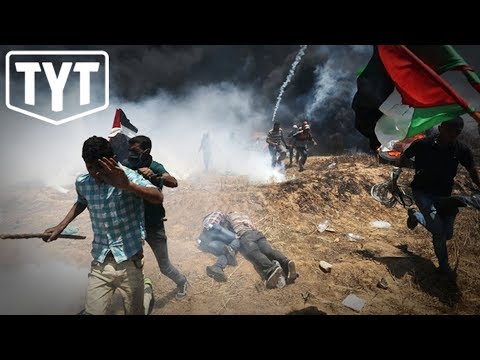 Israel MASSACRES Over Fifty Palestinian Protesters, Thousands Injured