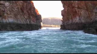 "Horizontal Waterfalls, from Broome, ""Jet Boat Trip"", The Kimberley, Western Australia"