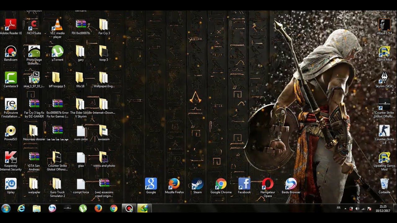 Assassin S Creed Origins Wallpaper Engine For Free Youtube