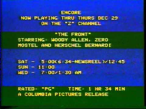 Z Channel break- December 1977