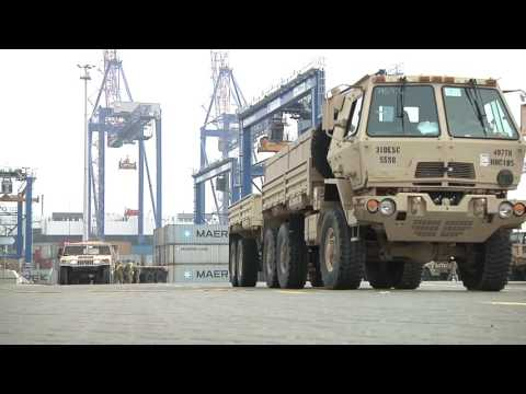 US Military Equipment Arrives in Poland for NATO Operation