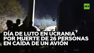 Se estrella el avión militar An-26 con 27 personas a bordo en Ucrania
