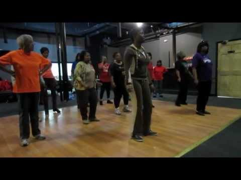 Knock Me Out Soul Line Dance | Instructional & Demo