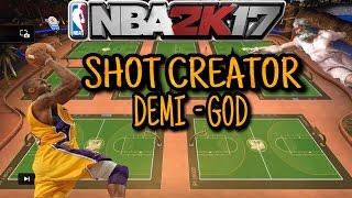 nba 2k17 shot creator mixtape   demi god   best in 2k   contact dunk   putbacks   green lights