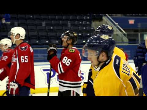 NHL Players Get Figure Skating Lessons