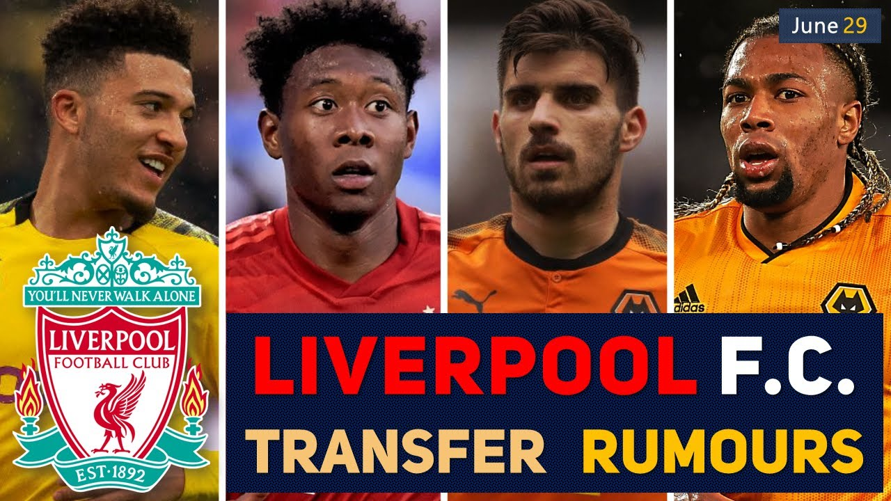 TRANSFER NEWS: LIVERPOOL FC. TRANSFER NEWS AND RUMOURS UPDATE