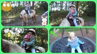 Baby born geht Ponyreiten + Spaß auf dem Spielplatz ♥ Hannah Spezial