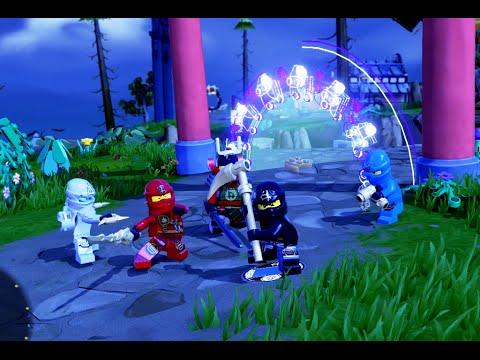 LEGO Dimensions - Cole and Kai Free Roam Gameplay on LEGO Ninjago ...