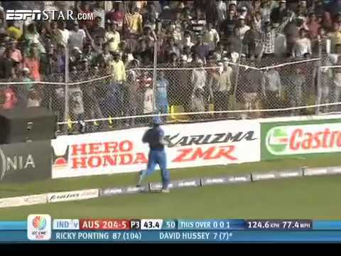 India vs Australia Top Shots World Cup 2011