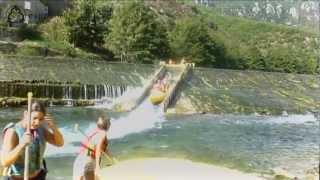 balade en Canoë sur le Tarn : Vignes - le Rozier