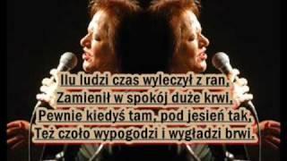 Grażyna Łobaszewska- Czas nas uczy pogody (instrumental)
