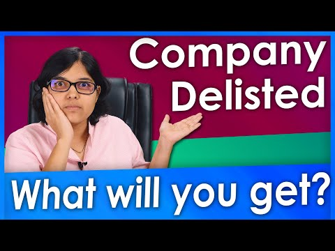 What happens when a company gets delisted and you still own shares? #AskRachanaShow Ep6