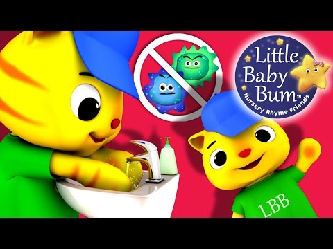 Wash Your Hands Song for Children | Nursery Rhymes | Original Song by LittleBabyBum!