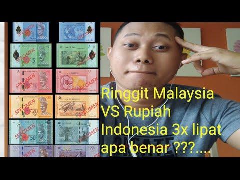 ringgit malaysia VS rupiah indonesia 3 x lipat apa benar ??....