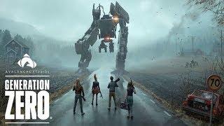 Generation Zero - KILLER ROBOT INVASION - Solo / Co-op Open-world Survival